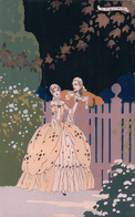 G. Meschini, Flirt , Ars Nova, Dipinta A Mano (2108) - Andere Zeichner