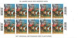 Oostenrijk; Mi 2694 In Blok Van 10 Jaar 2007, Gestempeld,  Kleinbogen. - 1945-.... 2ème République
