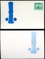 DDR PP16 D2/041 Privat-Postkarte FARBAUSFALL SCHWARZ ABKLATSCH 1976 - [6] Oost-Duitsland