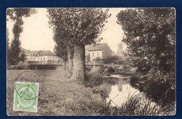 Athus (Aubange). Pont Sur La Messancy Et église St. Etienne. 1912 - Aubange