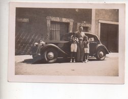 Ref ALB : Lot 3 Photos Originales 9 X 6 Cm Beau Plan Citroen Traction Août 1936 - Auto's