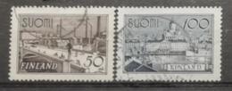 Finlande 1942 / Yvert N°251-252 / Used - Oblitérés