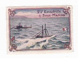 Vignette Militaire Delandre - 2ème Escadrille De Sous-marins - Militario
