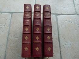 1 Er EMPIRE Lot De 3 Livres Reliés Memoires Du Général Baron De Marbot - Livres