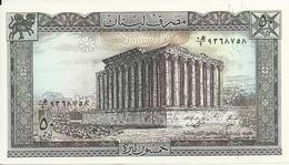 LIBAN 50 LIVRES 1988 UNC P 65 D - Liban