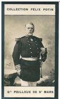 """Général De Poilloüe De Saint Mars,   Né à Condé-sur-l'Escaut Dit """"Le Père Du Soldat"""" - Collection Photo Felix POTIN 1900 - Félix Potin"""