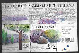 Finlande 2004 Bloc  Neuf N°35 Tumulus De Sammallahti - Blocks & Sheetlets