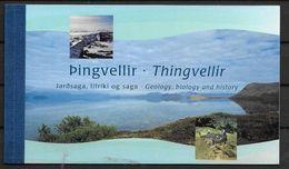 Islande 2002 Carnet N° C 940 Poissons Du Lac Thingvellir - Markenheftchen