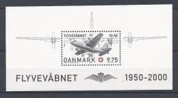 Danemark 2000 Bloc Feuillet N° 17 Neuf, Avion, Armée De L'air - Blocks & Kleinbögen