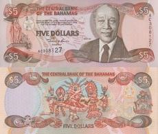 Bahamas / 5 Dollars / 2001 / P-63(a) / UNC - Bahamas