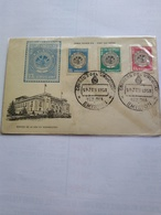 Uruguay 1958 19 June American States Org Illustrated Cover Fdc Air Mails - Uruguay