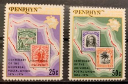 PENRYHN - MNH** - 1974 - # 64/65 - Penrhyn