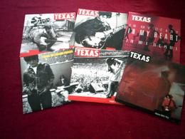 TEXAS  °° COLLECTION DE 6  45 TOURS - Complete Collections