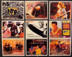 TURKMENISTAN - MNH** - 2000 - 9 VALUES - Turkmenistán