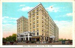 Arkansas Little Rock Hotel Marion 1935 Curteich - Little Rock
