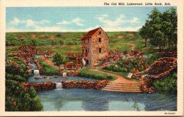 Arkansas Little Rock Lakewood The Old Mill Curteich - Little Rock
