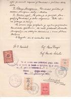 5520 - DOKUMENT  SHS    CELJE 1920 - Slowenien