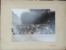 Photo De Groupe Classes Lycée College - Jeunes Filles En Col Blanc - Photo F. Hamelle, Cachan 1936 à Identifier - Personnes