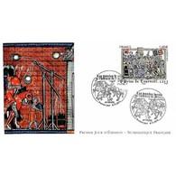 FDC LNF - Histoire De France, La Prise De Tournoël En 1212, Oblit 8/11/2013 Volvic - 2010-....
