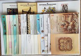Lot De Carnets Croix Rouge De 1964 à 1983 Neuf ** à 12,5% De La Cote  TB - Booklets