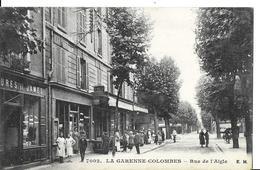 LA GARENNE COLOMBES  N 7002   RUE DE L AIGLE  PERSONNAGES   BOUTIQUES    DEPT 92 - La Garenne Colombes