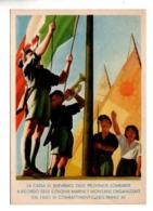 ITALIE . A RICORDO DELLE MARINE E MONTANE ORGANIZZATE DAI FASCI DI COMBATTIMENTO NELL'ANNO XLL - Réf. N°10136 - - Italia