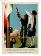 ITALIE . A RICORDO DELLE MARINE E MONTANE ORGANIZZATE DAI FASCI DI COMBATTIMENTO NELL'ANNO XLL - Réf. N°10137 - - Italia