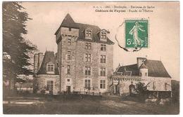 ENVIRONS DE SARLAT.CHATEAU DE FAYRAC.FACADE DE L'ENTREE - France