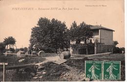 PONTANEVAUX-RESTAURANT DIOT AU PORT JEAN GRAS - Francia