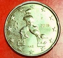 ITALIA - 2019 -  Moneta - Scultura Di Umberto Boccioni, Futurista - Euro - 0.20 - Italia