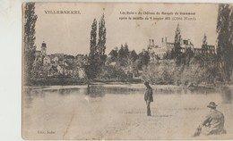 Cpa ( 70 Haute-saone )  Villersexel , Les Ruines Du Chateau  1911 - France