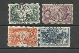 162/65  Exposition Coloniale  Beaux Cachets       (clascamer25) - Used Stamps