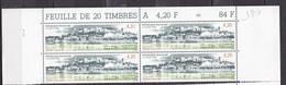 N° 2817 Chinon Indres-et-Loire: Beau Bloc De 4 Timbres Neuf Impeccable - Ungebraucht