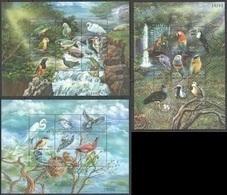 PK115 BHUTAN FAUNA BIRDS OF THE WORLD 3SH MNH - Oiseaux