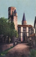 CADALEN  (Tarn) Ancienne Eglise Colorisée  RV - Cadalen