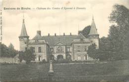 Belgique - Environs De Binche - Château Des Comtes D'Egmont à Ressaix - Nels Série 29 N° 1 - Binche