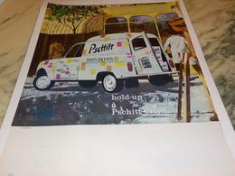 ANCIENNE PUBLICITE DELICIEUX BONBON  PSCHITT ET RENAULT 1963 - Affiches