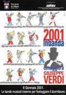 [MD4555] CPM - GIUSEPPE VERDI - OMAGGIO A  - 2001 INBANDA - LE BANDE MUSICALI INSIEME - PERFETTA - NV - Singers & Musicians