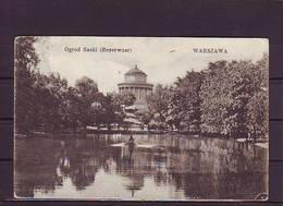 PL18-38 WARSZAWA OGROD SASKI - Polonia