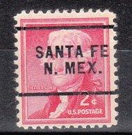 USA Precancel Vorausentwertung Preo, Locals New Mexico, Santa Fe 256 - Vorausentwertungen