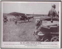 Dt- Reich (007828) Propagandasammelbild, Bilderdienst Weber Leipzig, Aus Der Großen Schlacht Im Osten - Covers & Documents