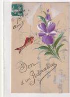 1er Avril Don D'un Adorateur (carte Celluloid) - 1er Avril - Poisson D'avril