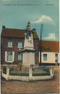 CPA 59 AULNOY LES VALENCIENNES Le Monument Peu Courante - Aulnoye