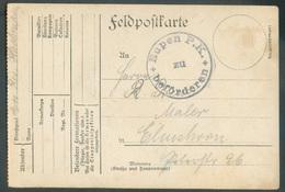 CANTON De L'EST - Feldpostkarte Obl. Sc EUPEN P.K. Zu Beforderen Envoyée D'HERBESTHAL Le 14-5-1916 Vers Elsenborn - 1520 - Weltkrieg 1914-18