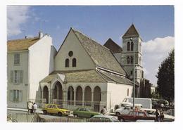 94 Saint Maur L'Eglise St Nicolas XIII Et XIVème VW Golf Camion C35 Citroën LN Fiat Renault 4L Camionnette VOIR DOS - Saint Maur Des Fosses