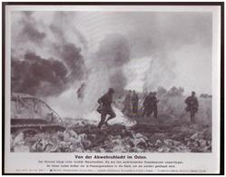 Dt- Reich (007853) Propagandasammelbild, Bilderdienst Weber Leipzig, SS PK Foto, Von Der Abwehrschlacht Im Osten - Briefe U. Dokumente