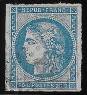 Emission De Bordeaux - N° 45B - Cote : 100 € - 1870 Bordeaux Printing