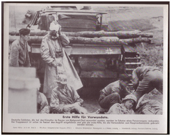 Dt- Reich (007905) Propagandasammelbild, Bilderdienst Weber Leipzig, Erste Hilfe Für Verwundete - Duitsland