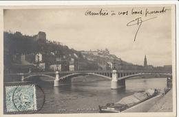 LYON - Pont D'AINAY : Péniche - Lyon