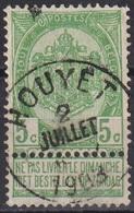 """(158) Cat Nr: 56  """" Houyet """"  +4  (2 SCAN) - 1893-1900 Fine Barbe"""